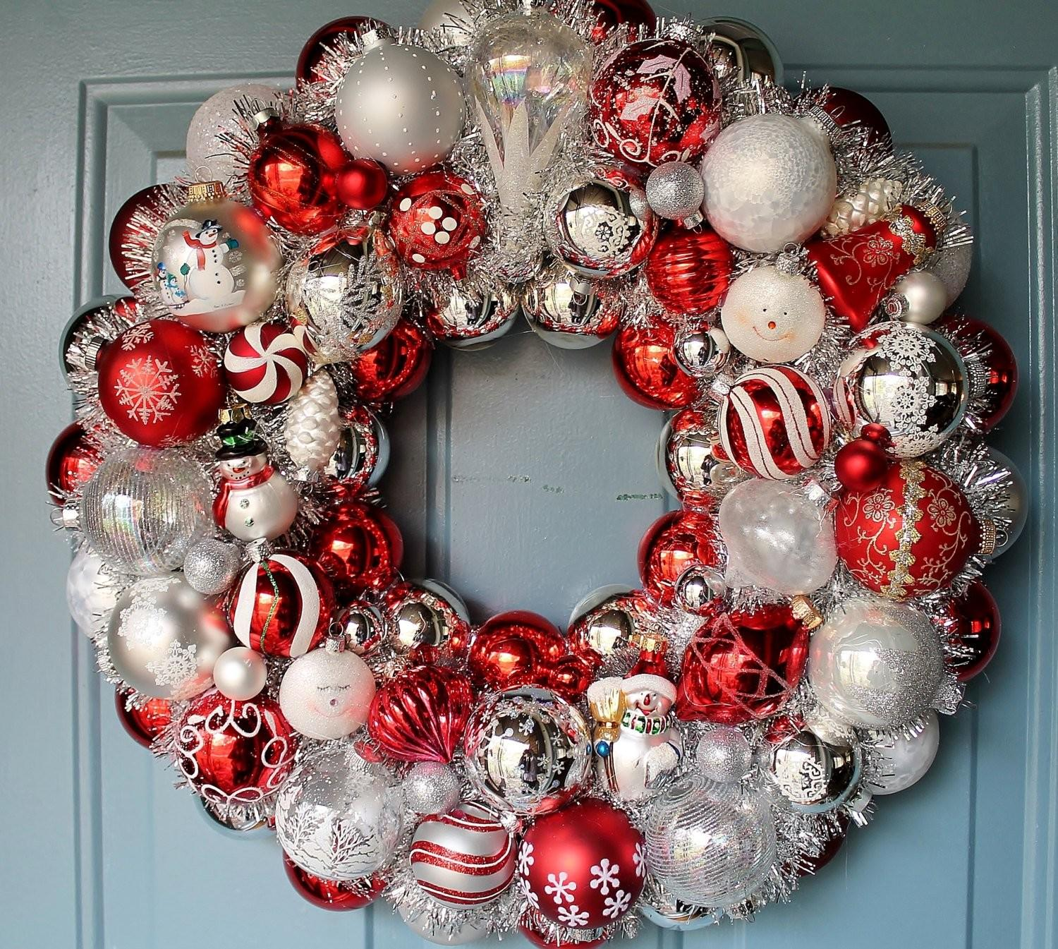 Beautiful Creative Handmade Christmas Wreaths