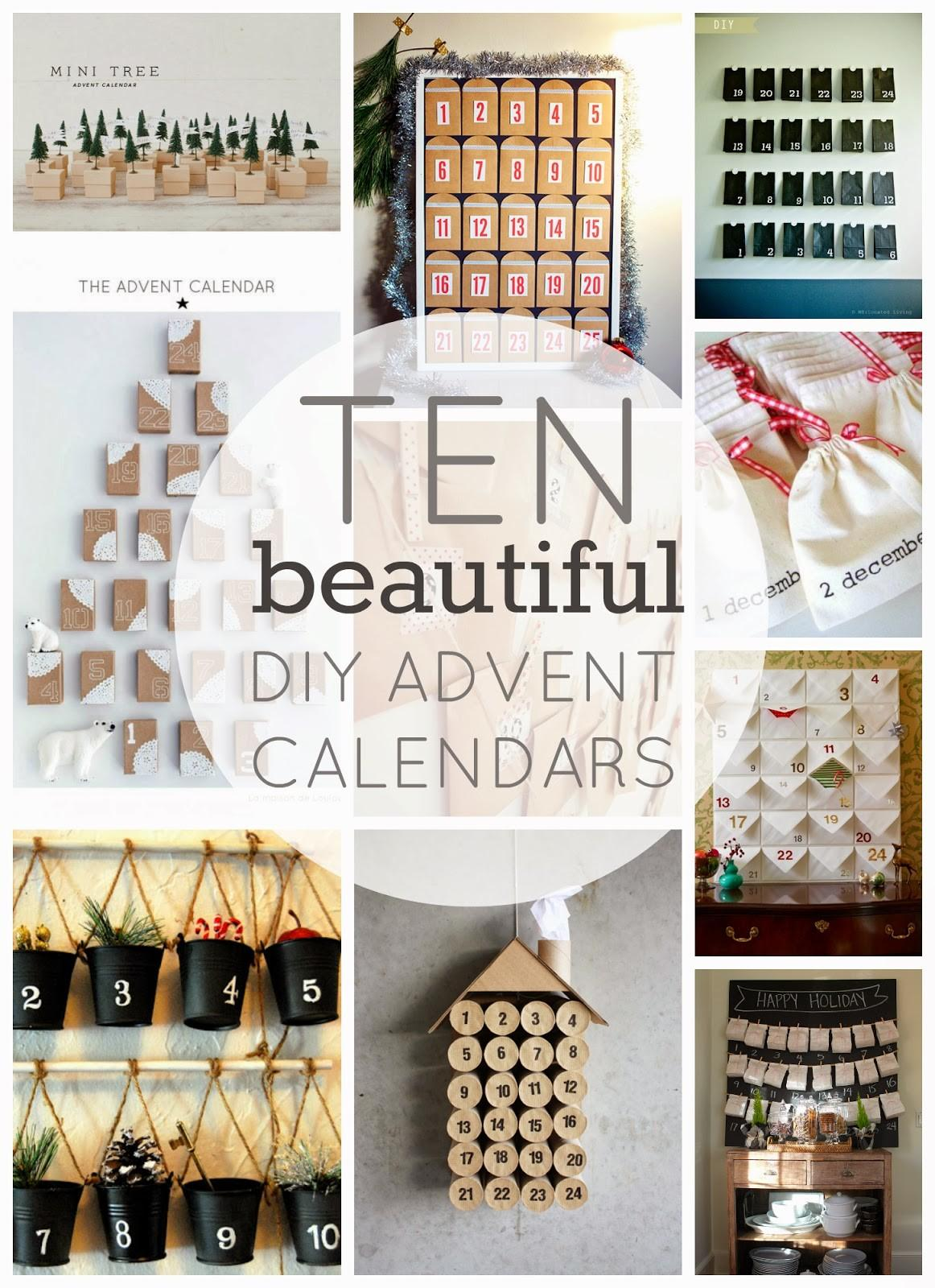Beautiful Diy Advent Calendars