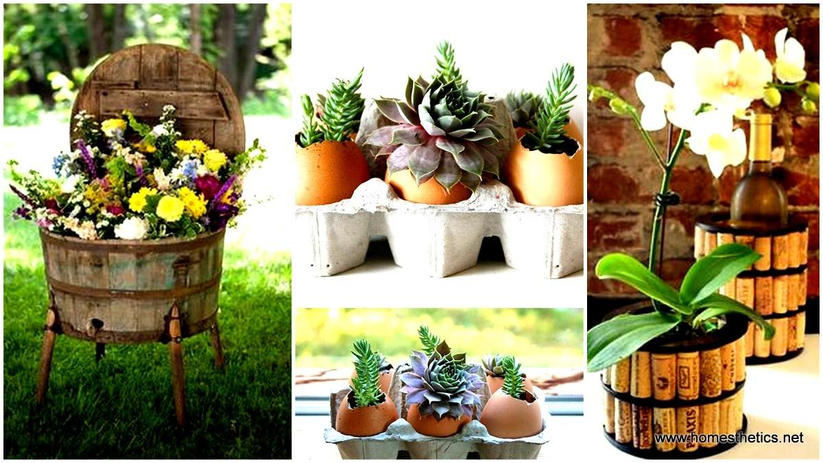 Beautiful Diy Flower Pot Ideas Add Life Your Home
