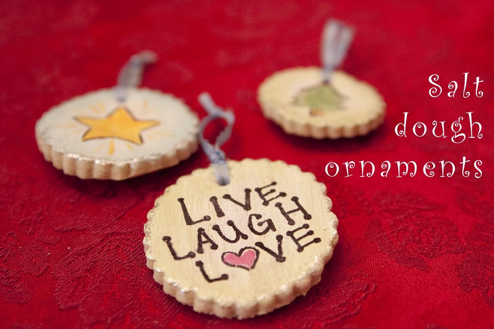 Beautiful Diy Salt Dough Ornaments