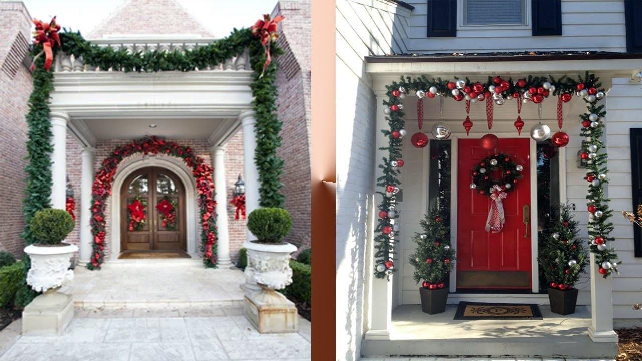 Beautiful Entrance Decoration Ideas Christmas