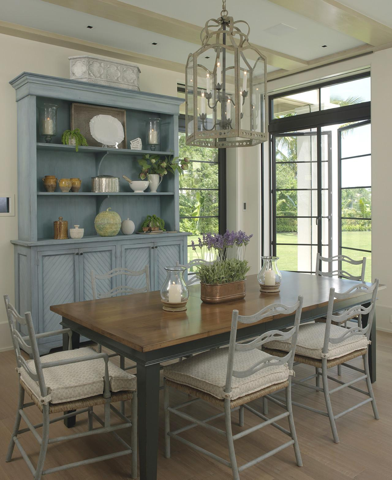 Beautiful Farmhouse Style Dining Room Sld Interiors