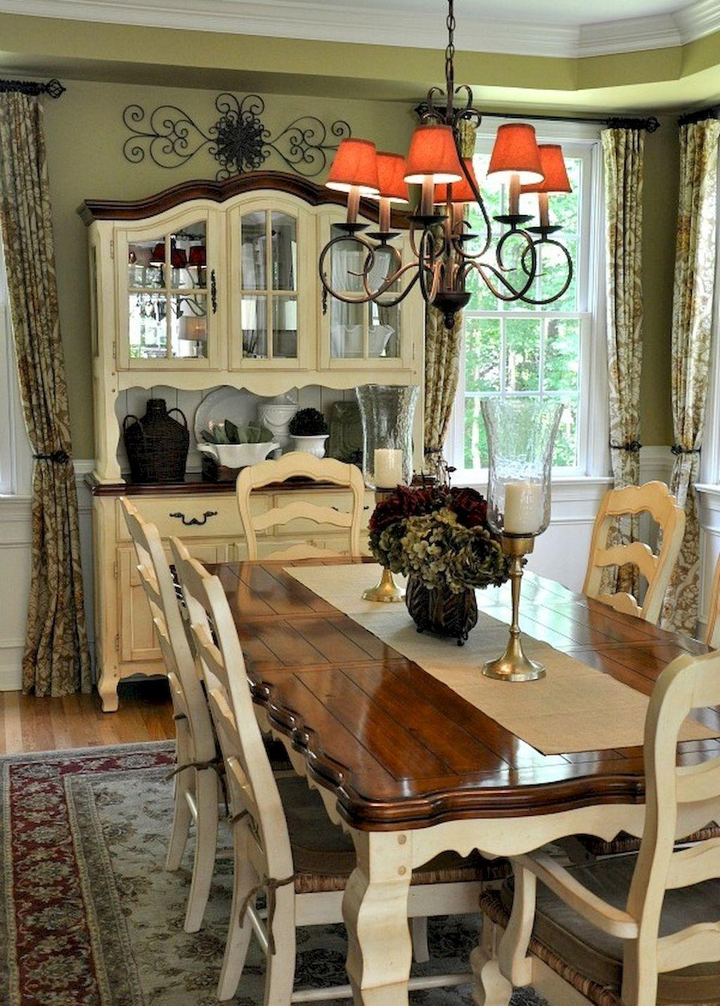 Beautiful French Country Dining Room Design Decor