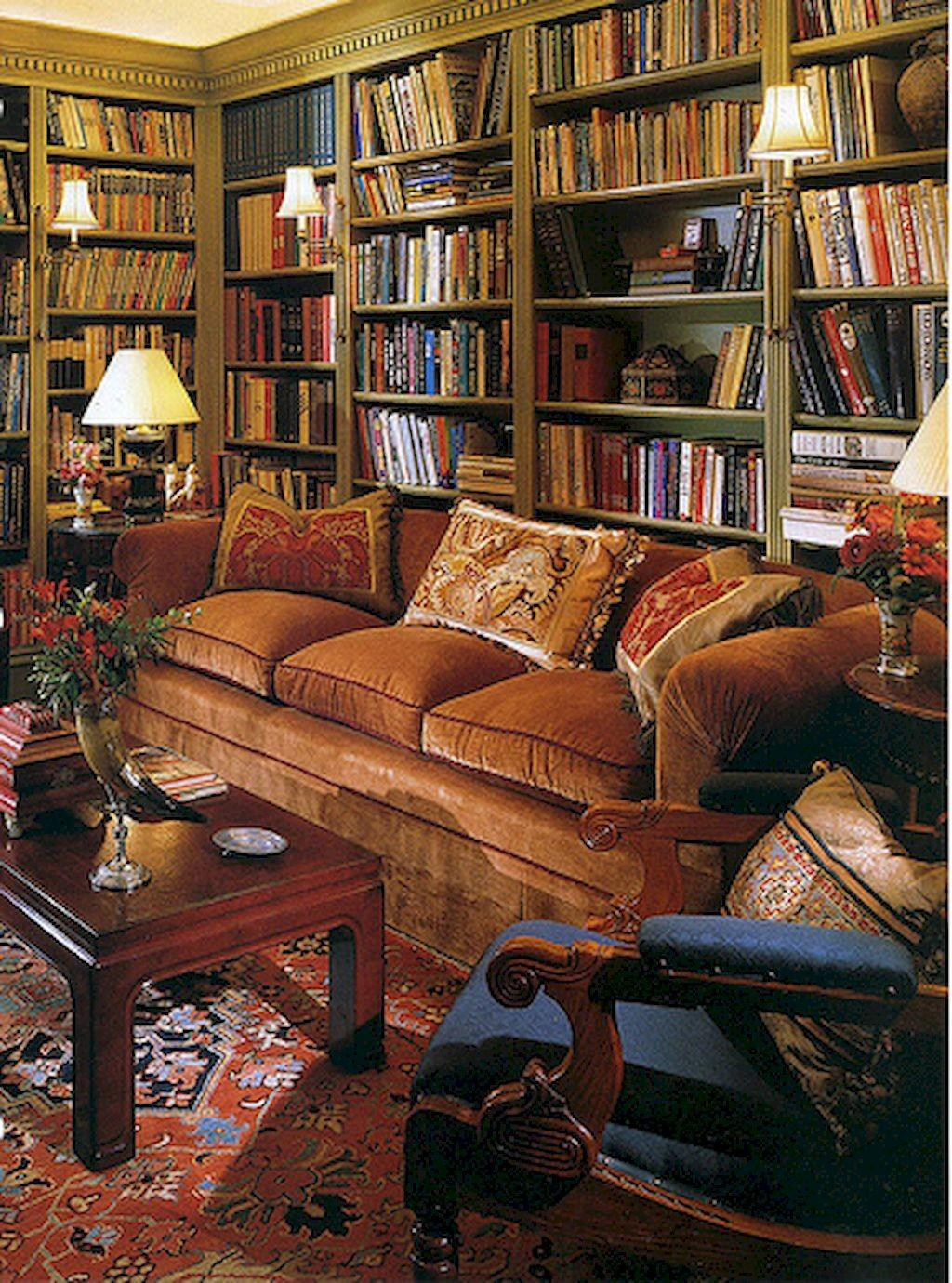 Beautiful Home Library Design Ideas Roomadness