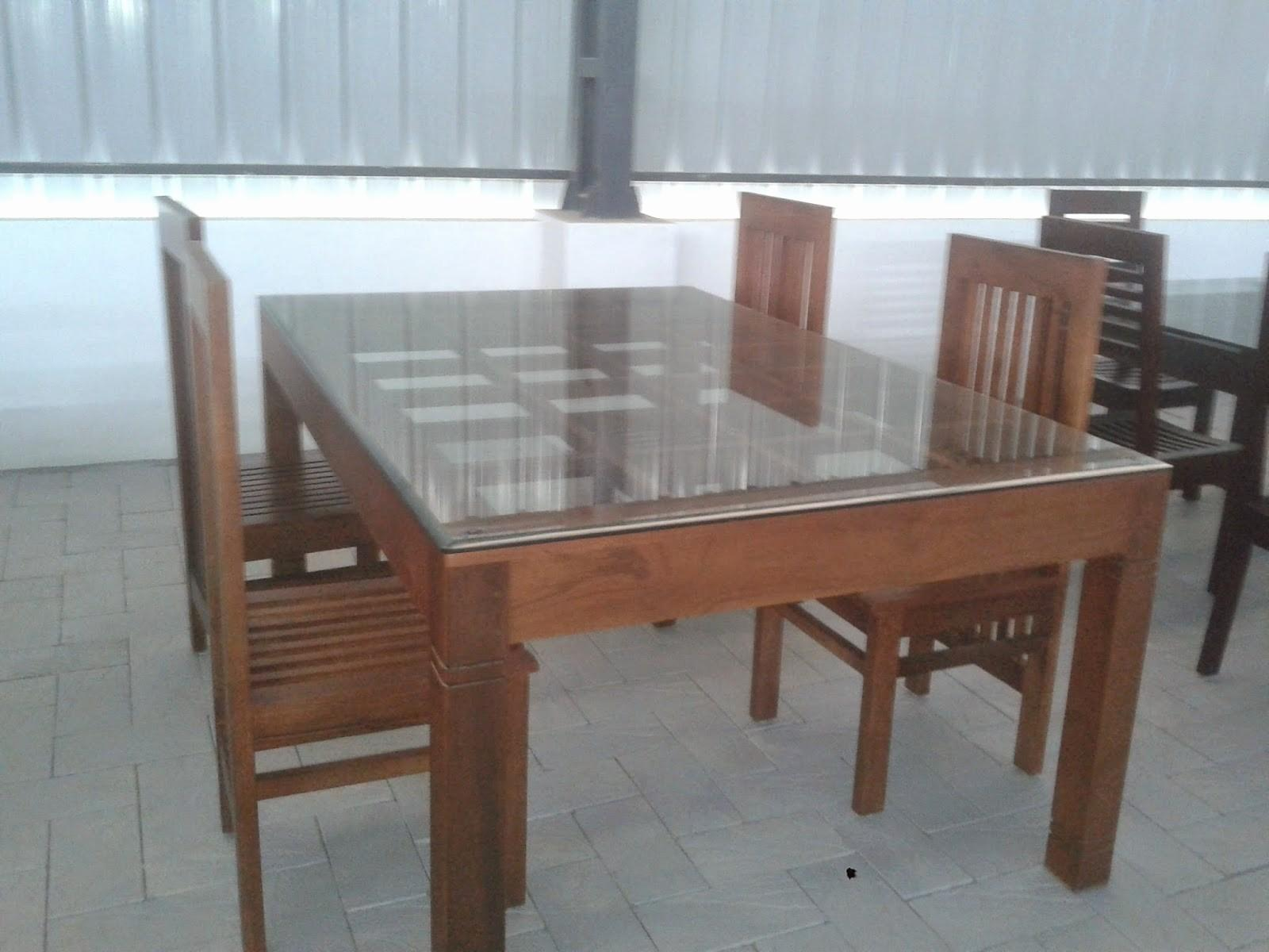 Beautiful Kerala Style Dining Table Chairs Light