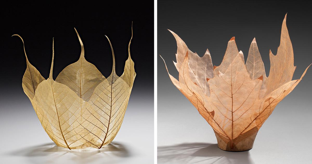 Beautiful Leaf Bowls Made Real Skeletons Bored