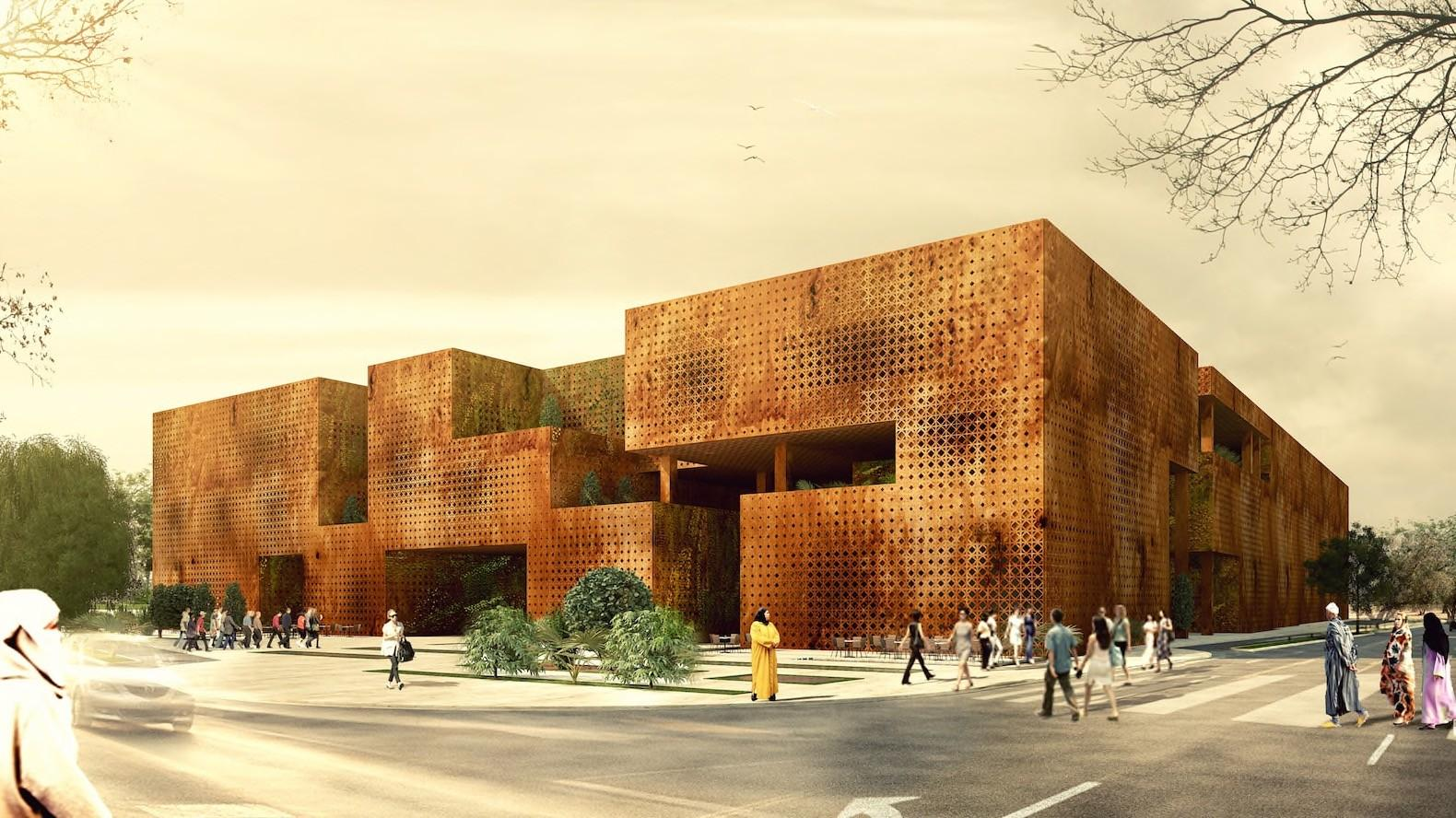 Beautiful Marrakesh Congress Center Design Brings Modern
