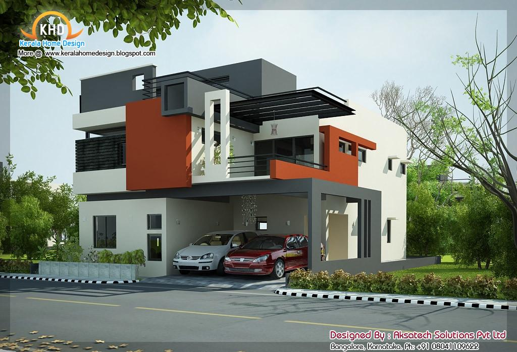 Beautiful Modern Contemporary Home Elevations