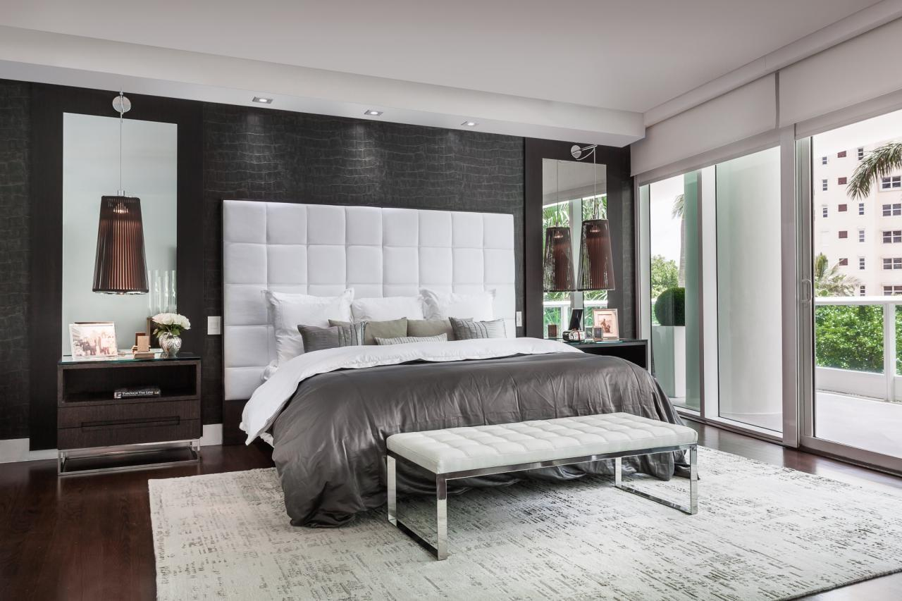 Beautiful Monochromatic Colors Schemes Master Bedrooms