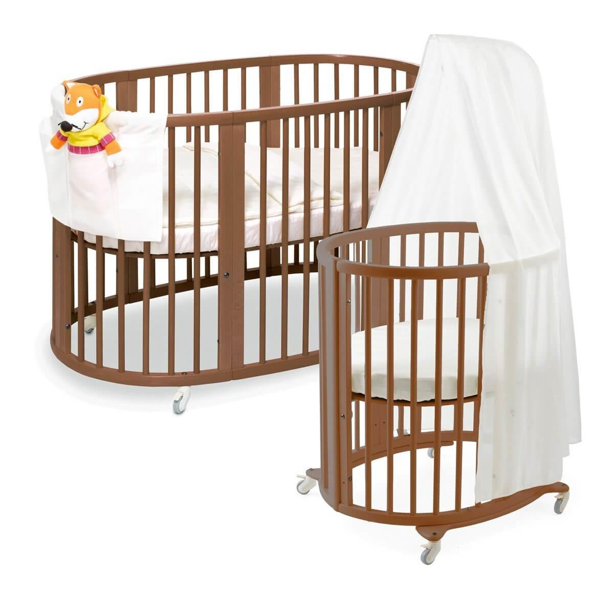 Beautiful Oval Round Baby Cribs Unique Nursery