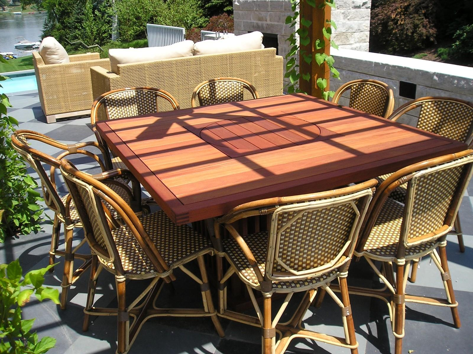 Beautiful Patio Dining Table Furniture Pretty