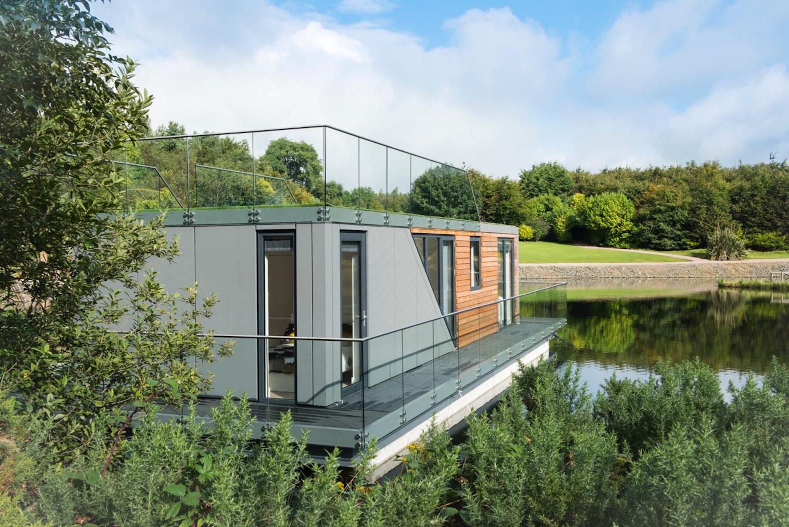 Beautiful Prefab Houseboats Let Live Water