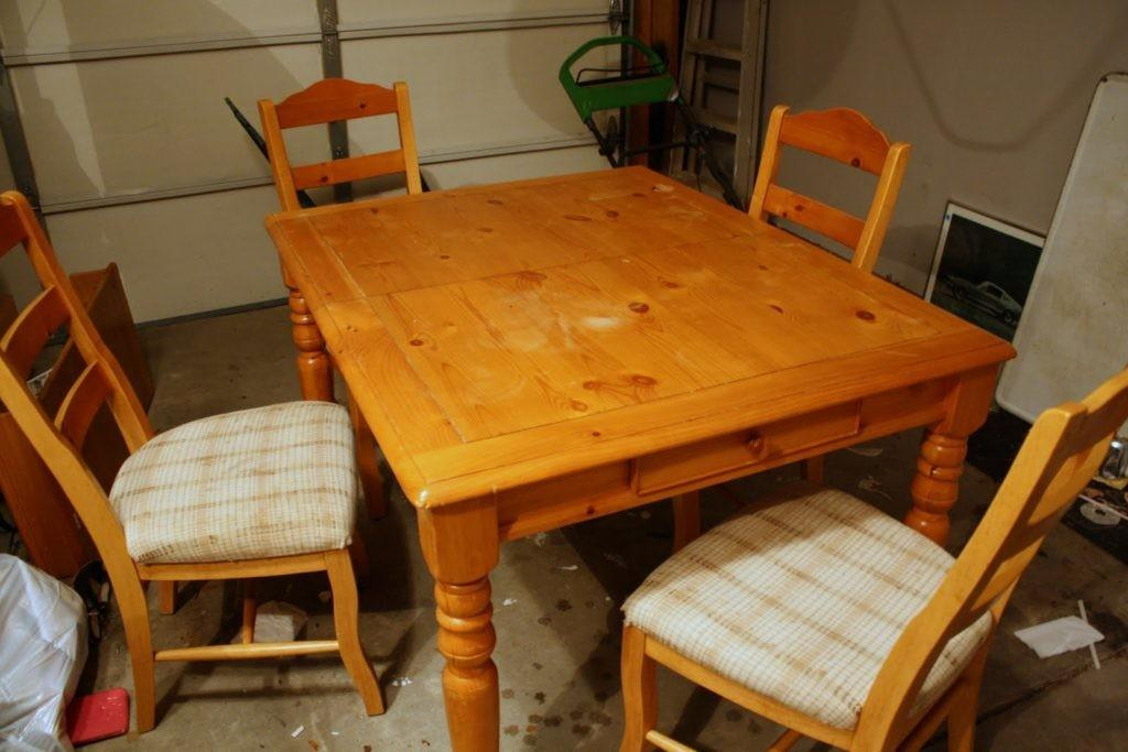 Beautiful Refinish Wood Table Top Decor Trends