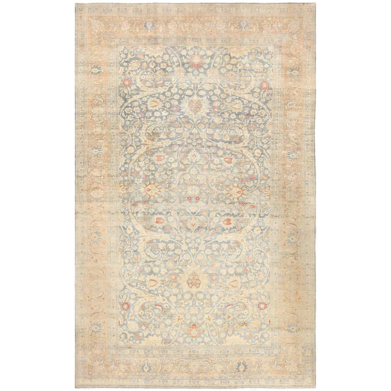 Beautiful Rugs Light Colored Antique Persian