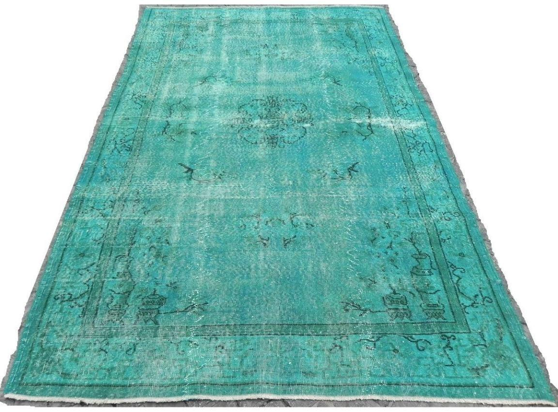 Beautiful Style Turquoise Area Rug
