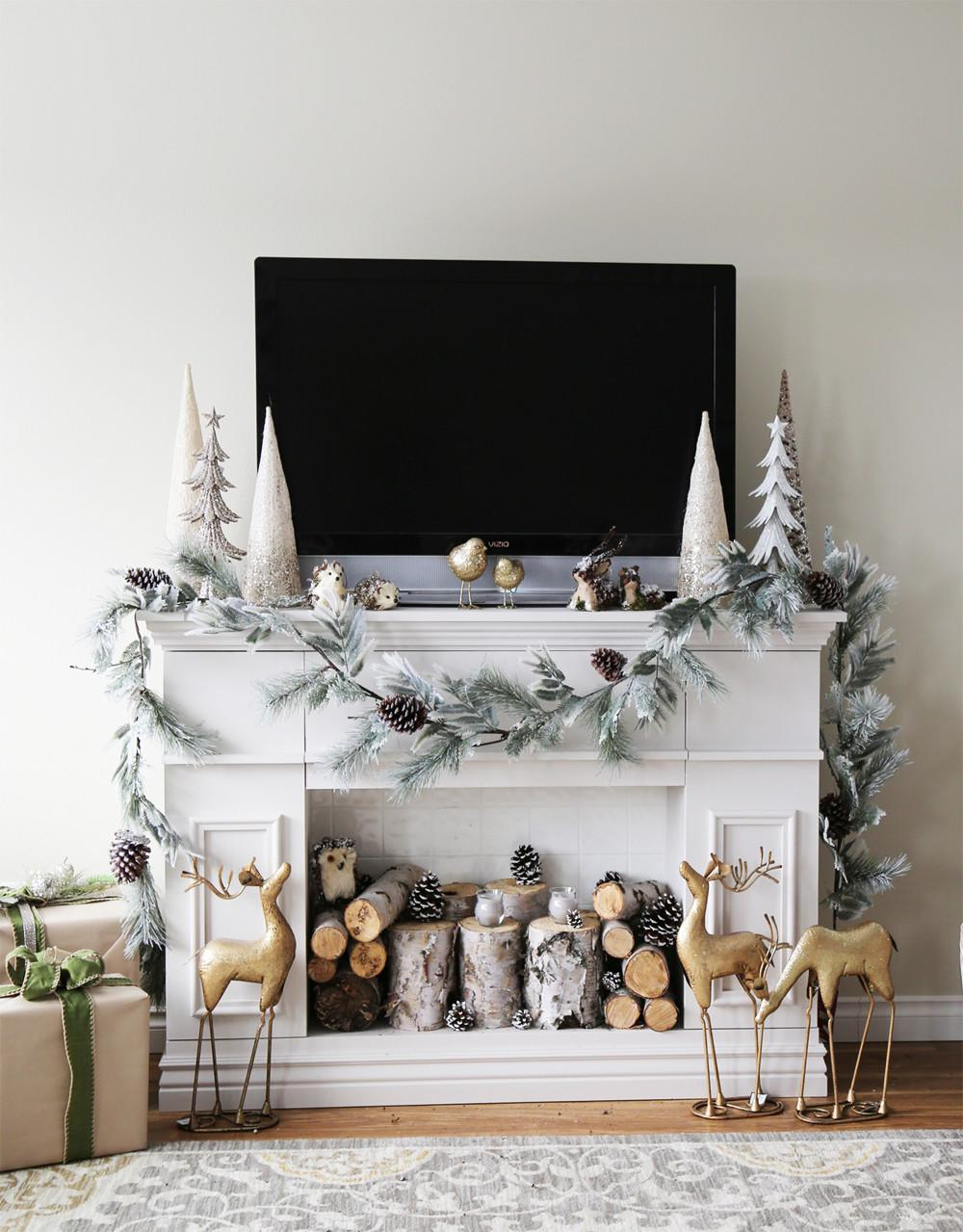Beautiful Ways Style Decorate Faux Fireplace