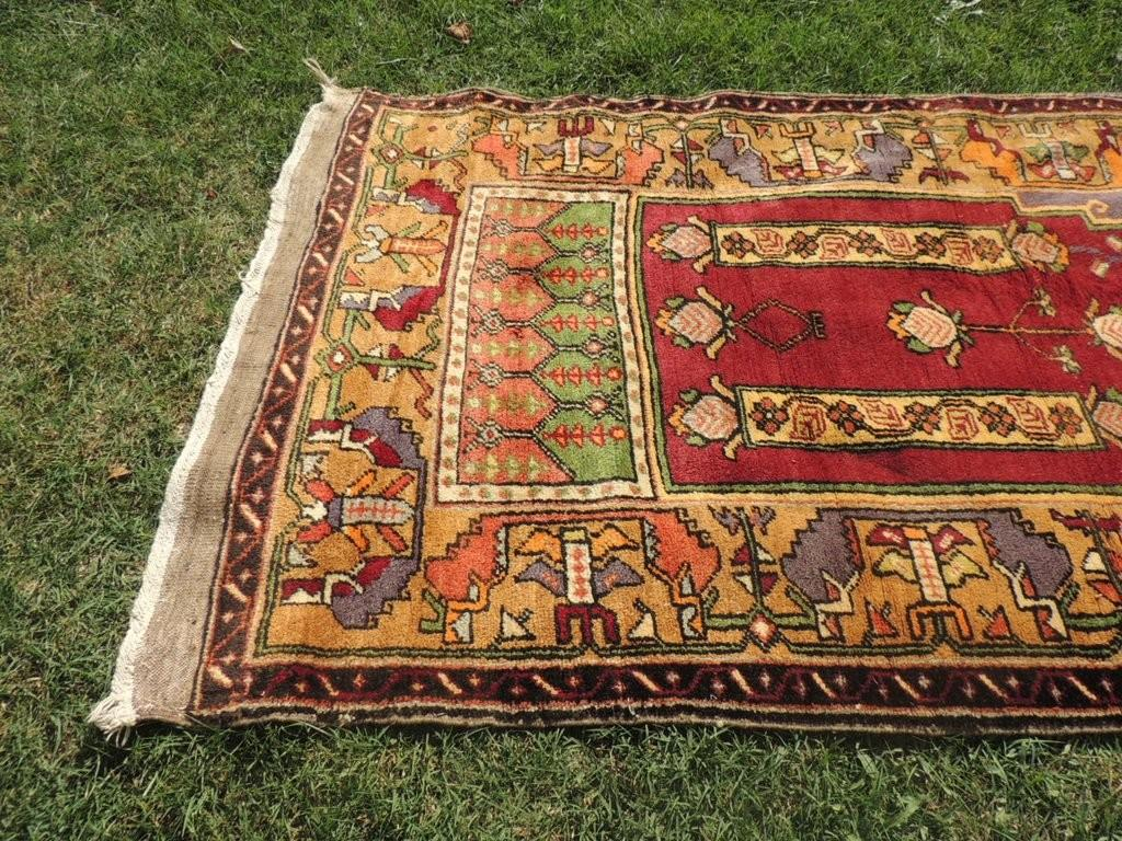 Beautiful Wool Turkish Prayer Rug Bosphorus Rugs
