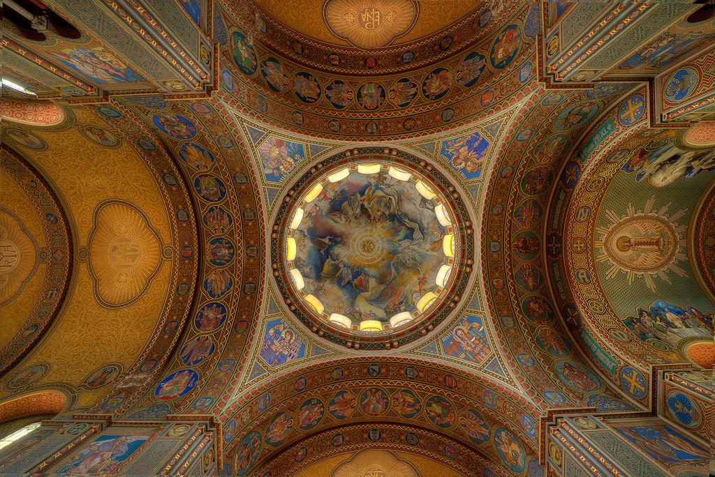 Beautifully Painted Decorated Ceilings Dome Sze