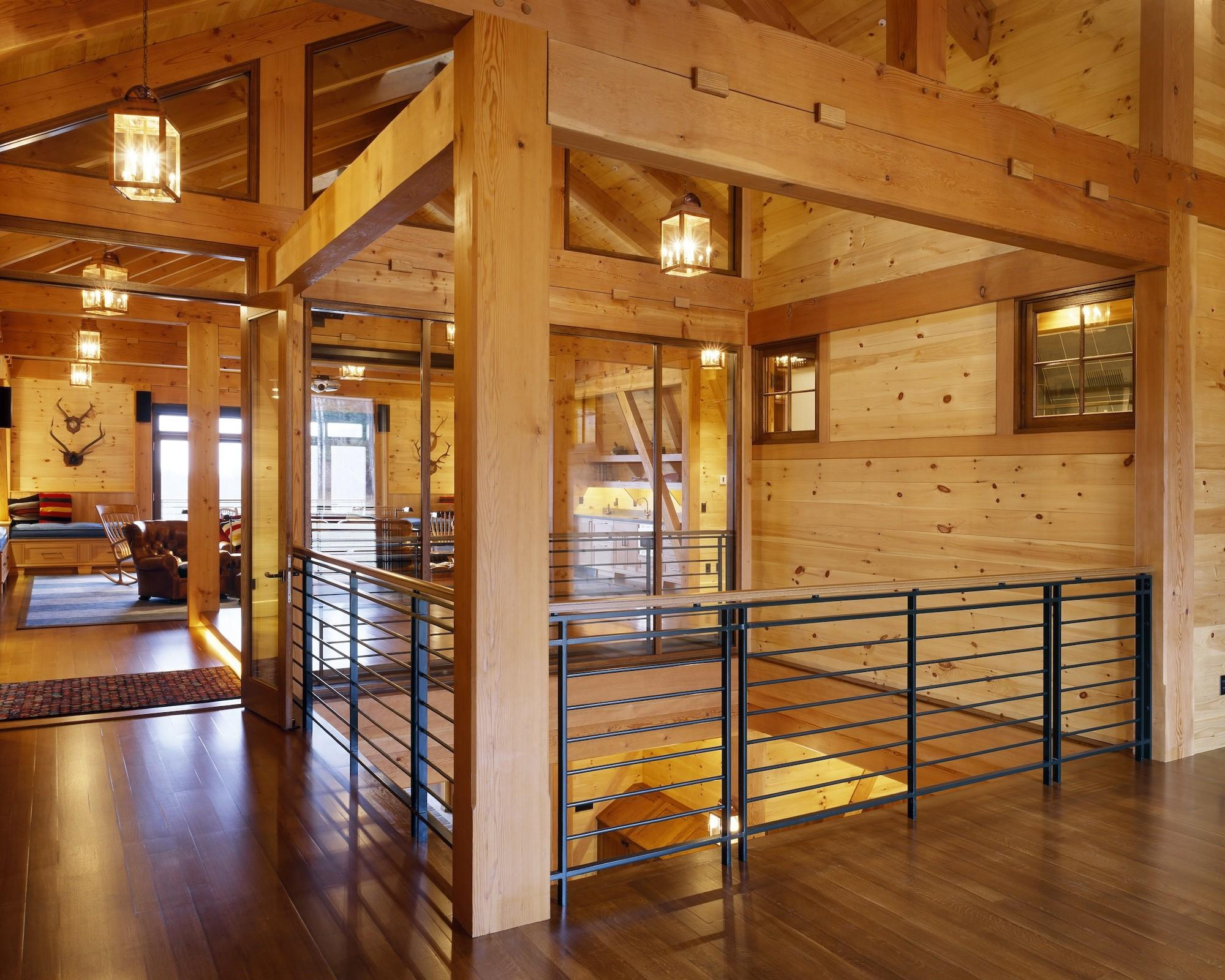 Beauty Working Timber Frames Morehouse