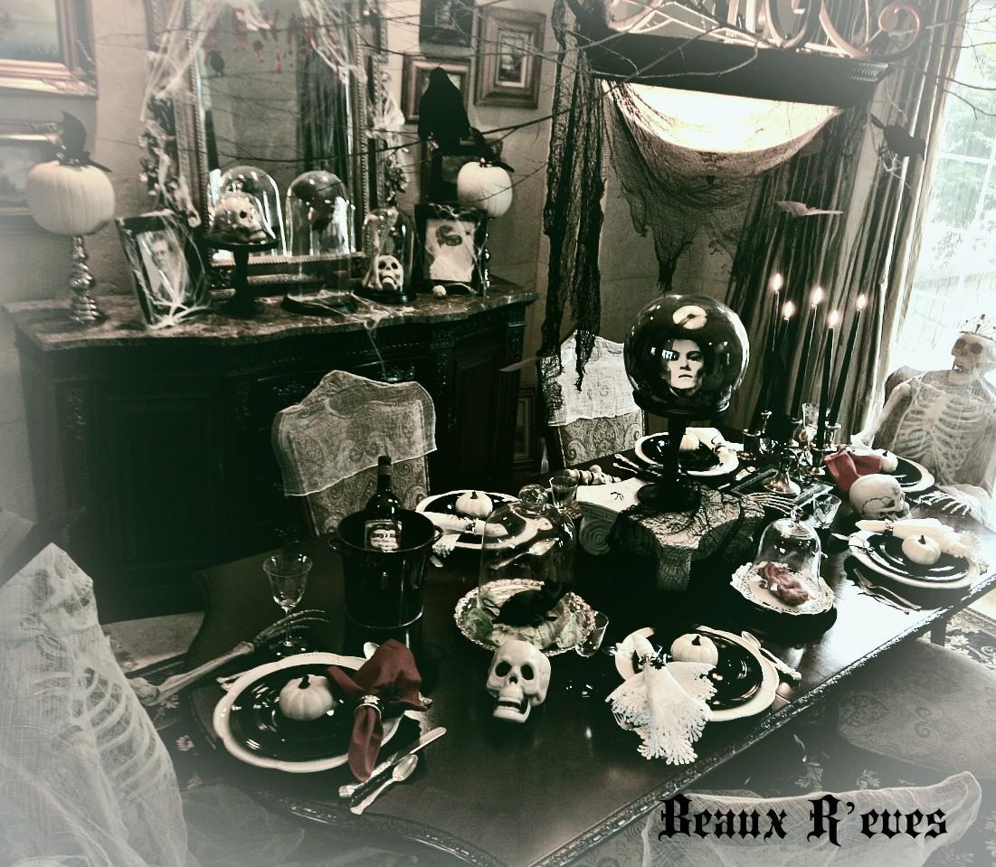 Beaux Eves Haunted Dining Room