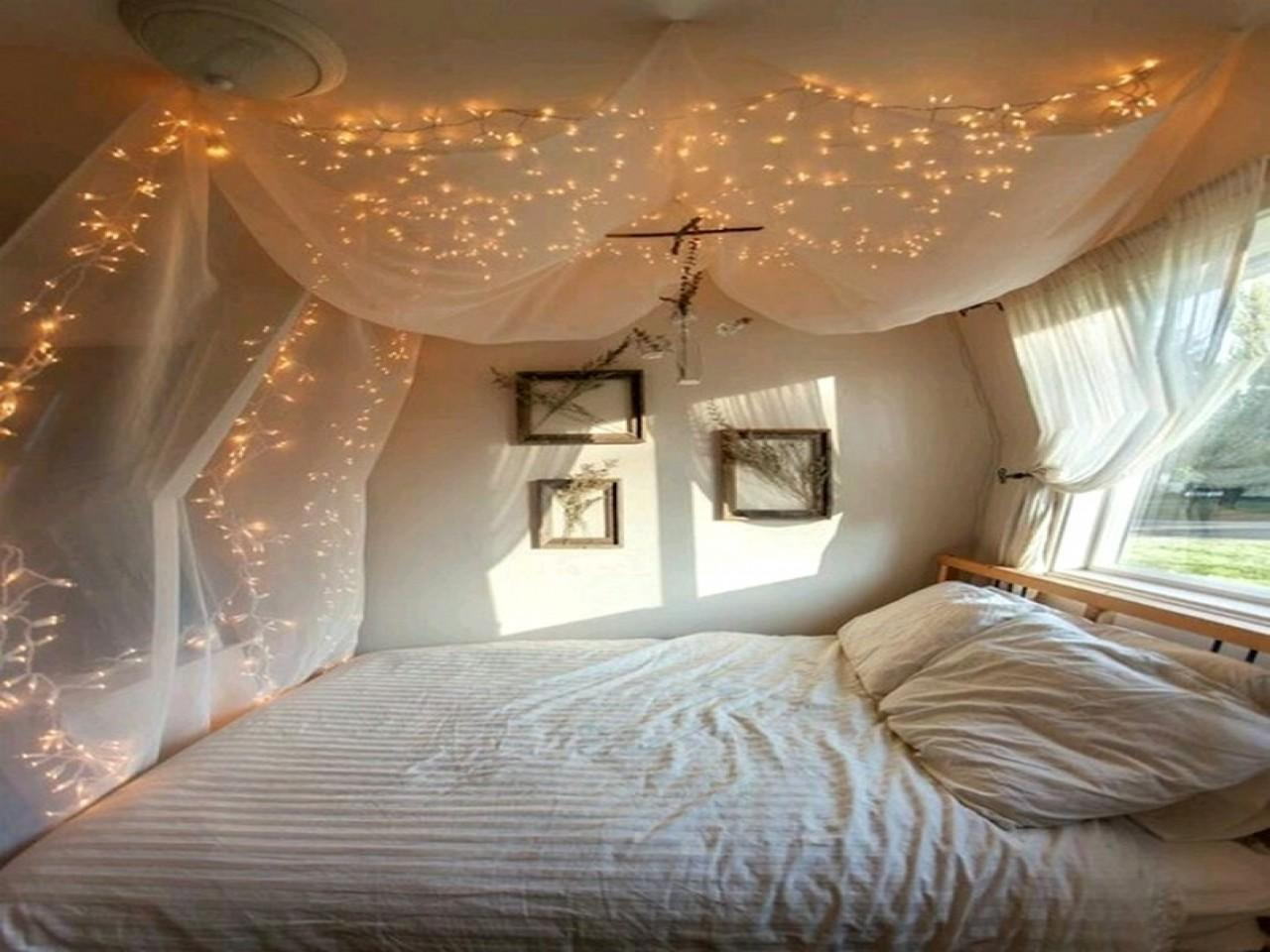Bed Canopy Lights Twinkle Light