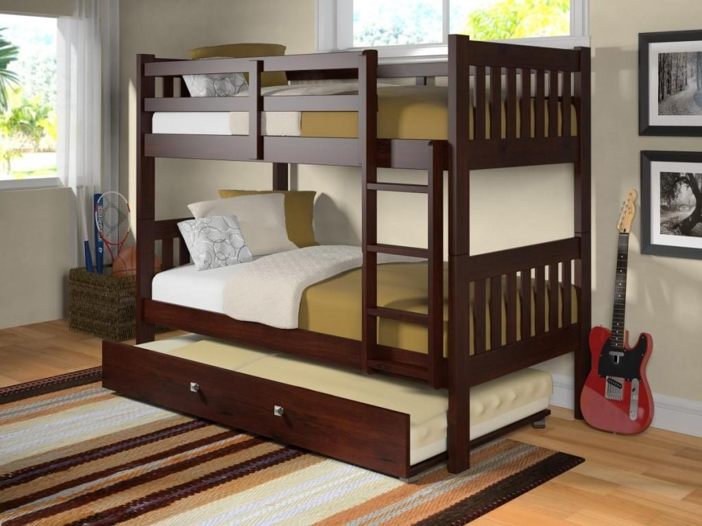 Bed Designs Small Bedroom Kids Bunk Beds Trundle