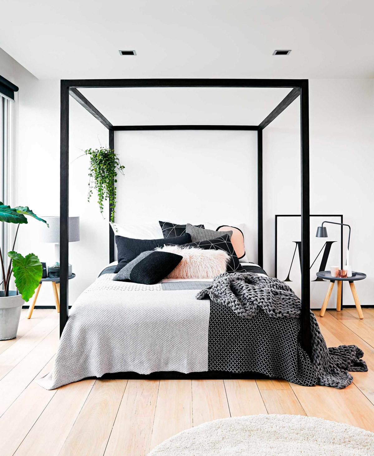 Bed Frames Queen Fascinate Modern Four Poster