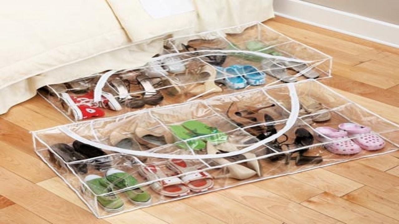 Bed Shoe Storage Ideas Creative Shoes