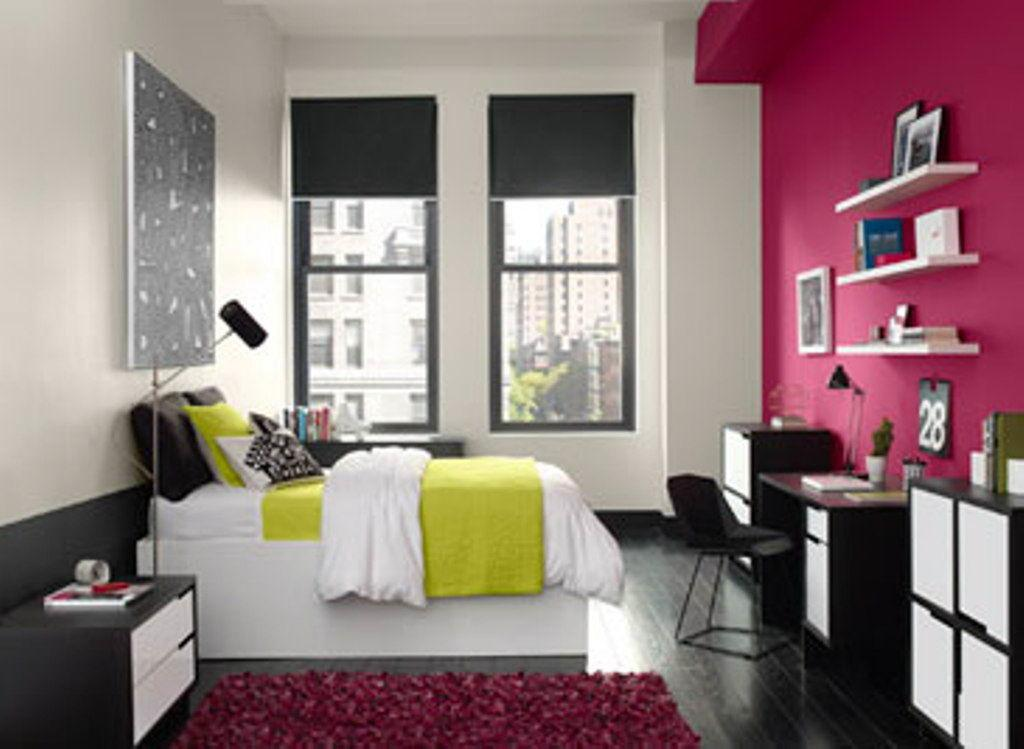 Bedroom Accent Wall Colour Decorating Ideas Decor