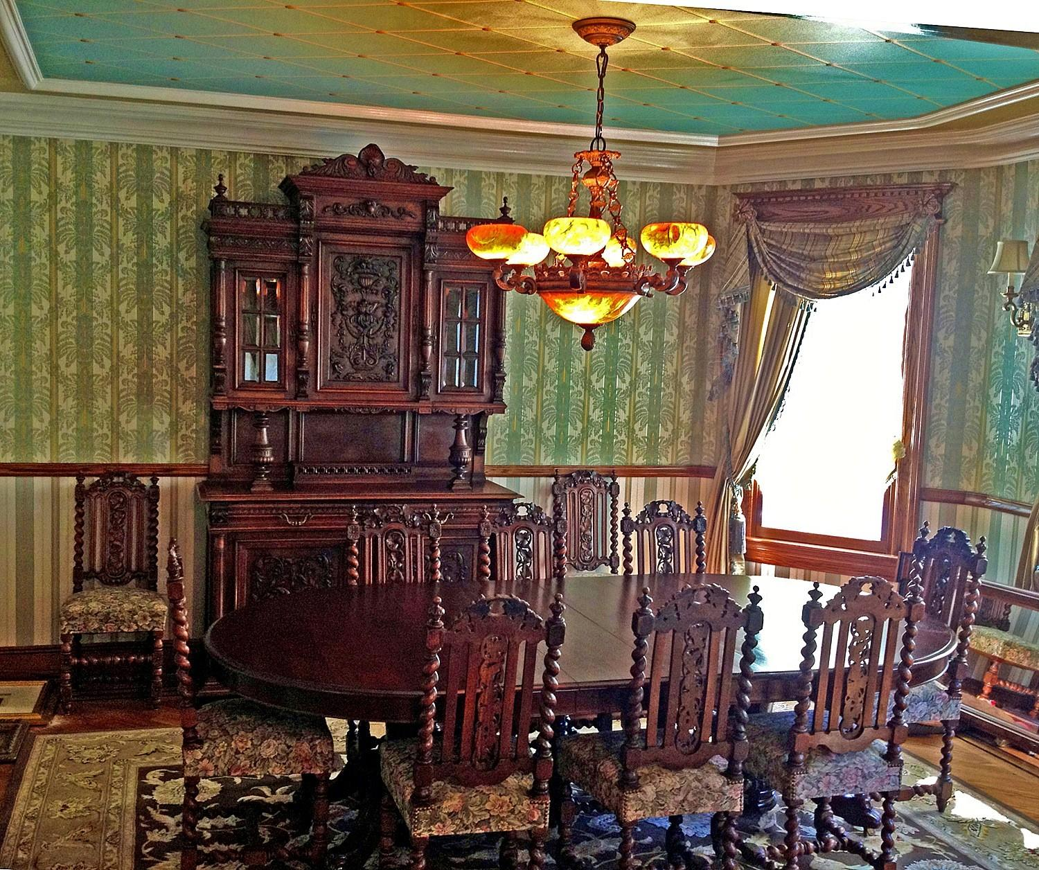Bedroom Attractive Victorian Dining Rooms Furniture
