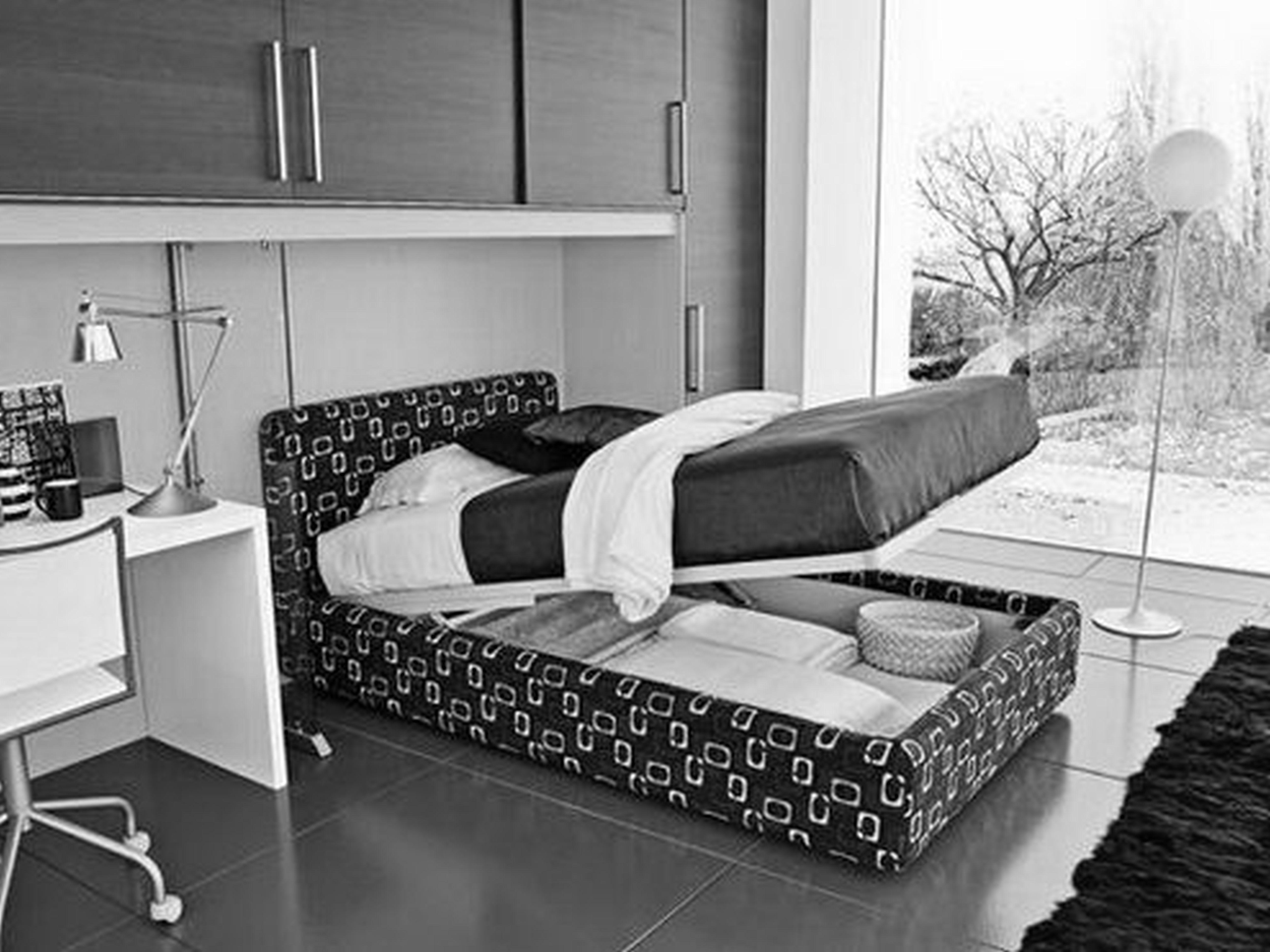 Bedroom Awesome White Glass Stainless Wood Modern Design