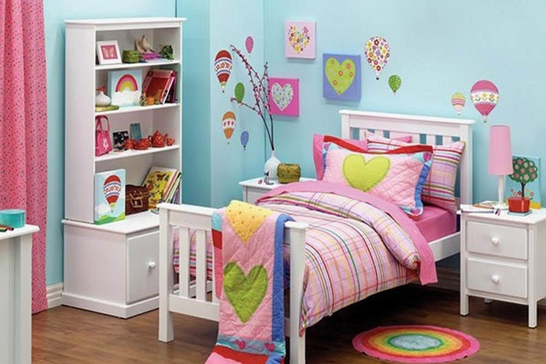 Bedroom Beautiful Soft Colorful Theme Teen Girls Small