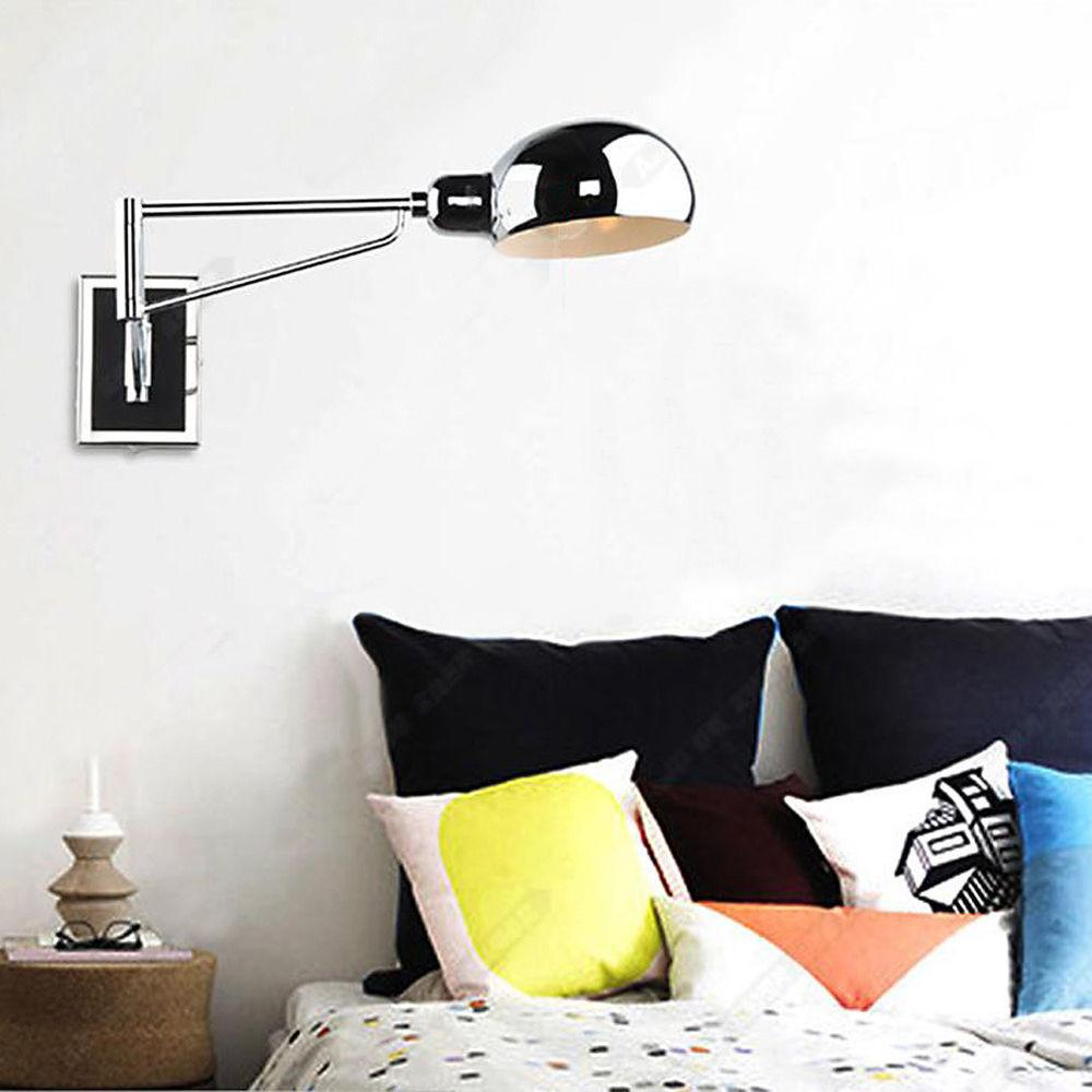 Bedroom Bedside Lamp Wall Hanging Reading
