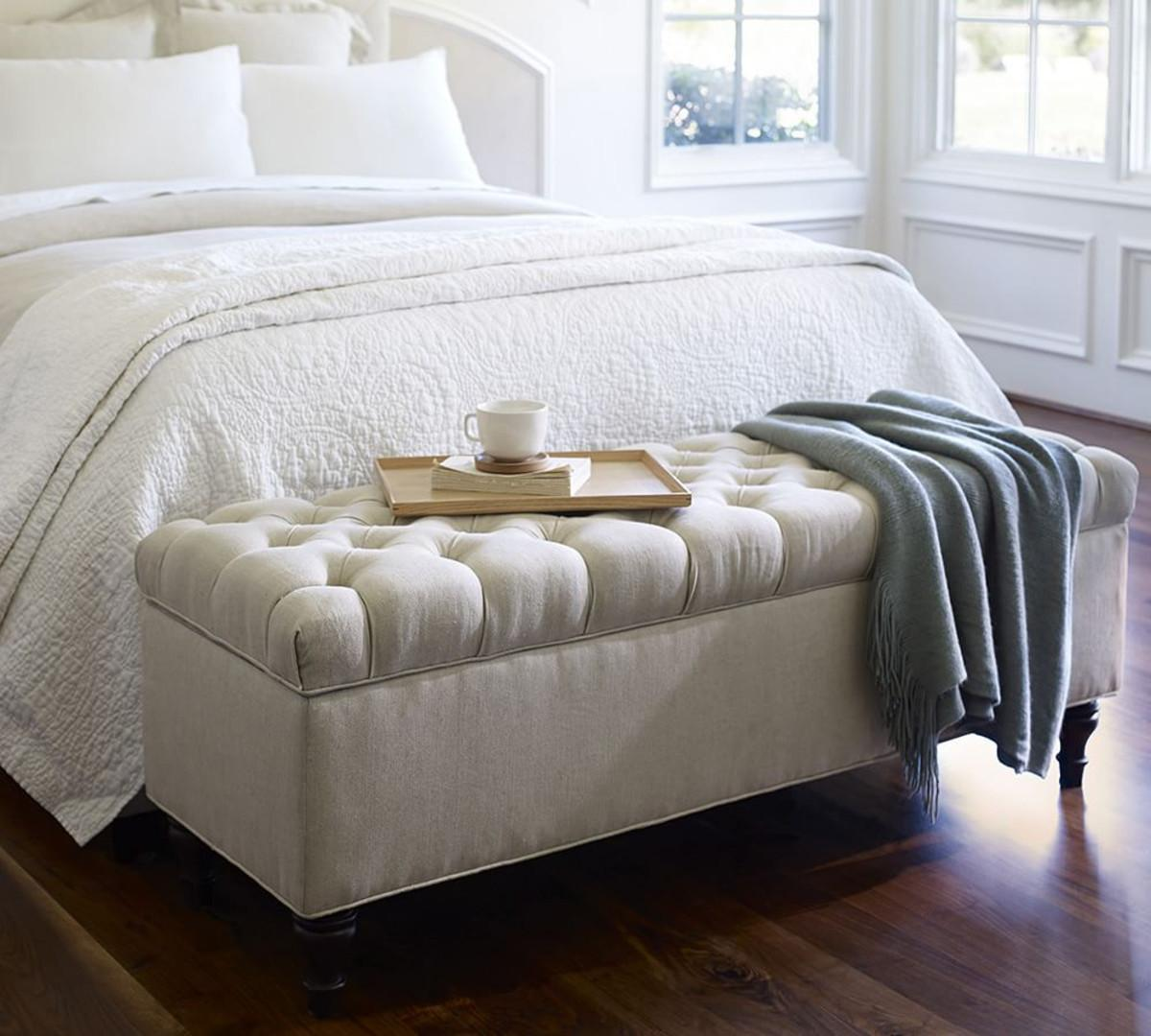 Bedroom Bench Back Awesome Tufted