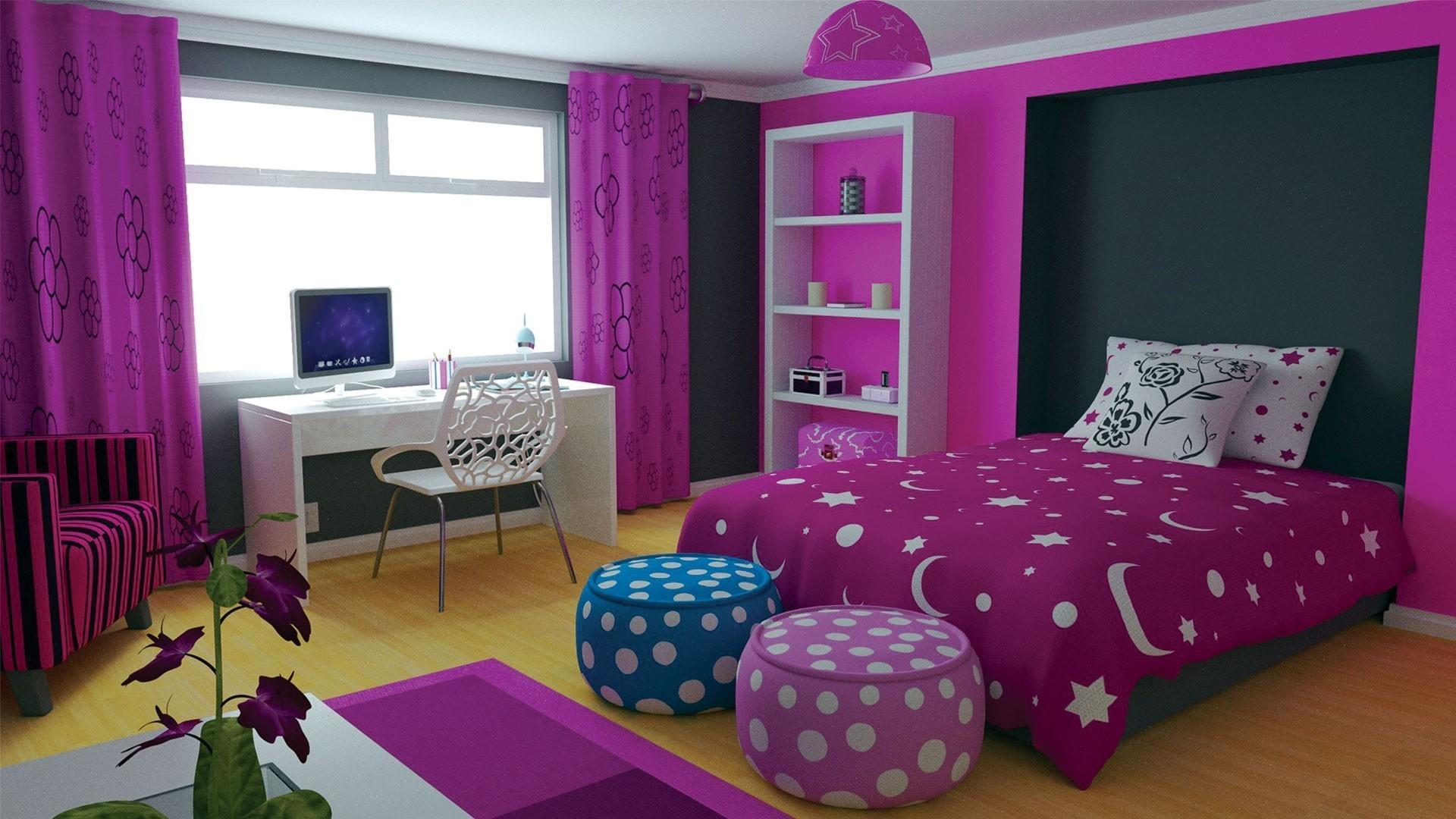 Bedroom Colorful Teen Room Ideas Light Blue Wrought