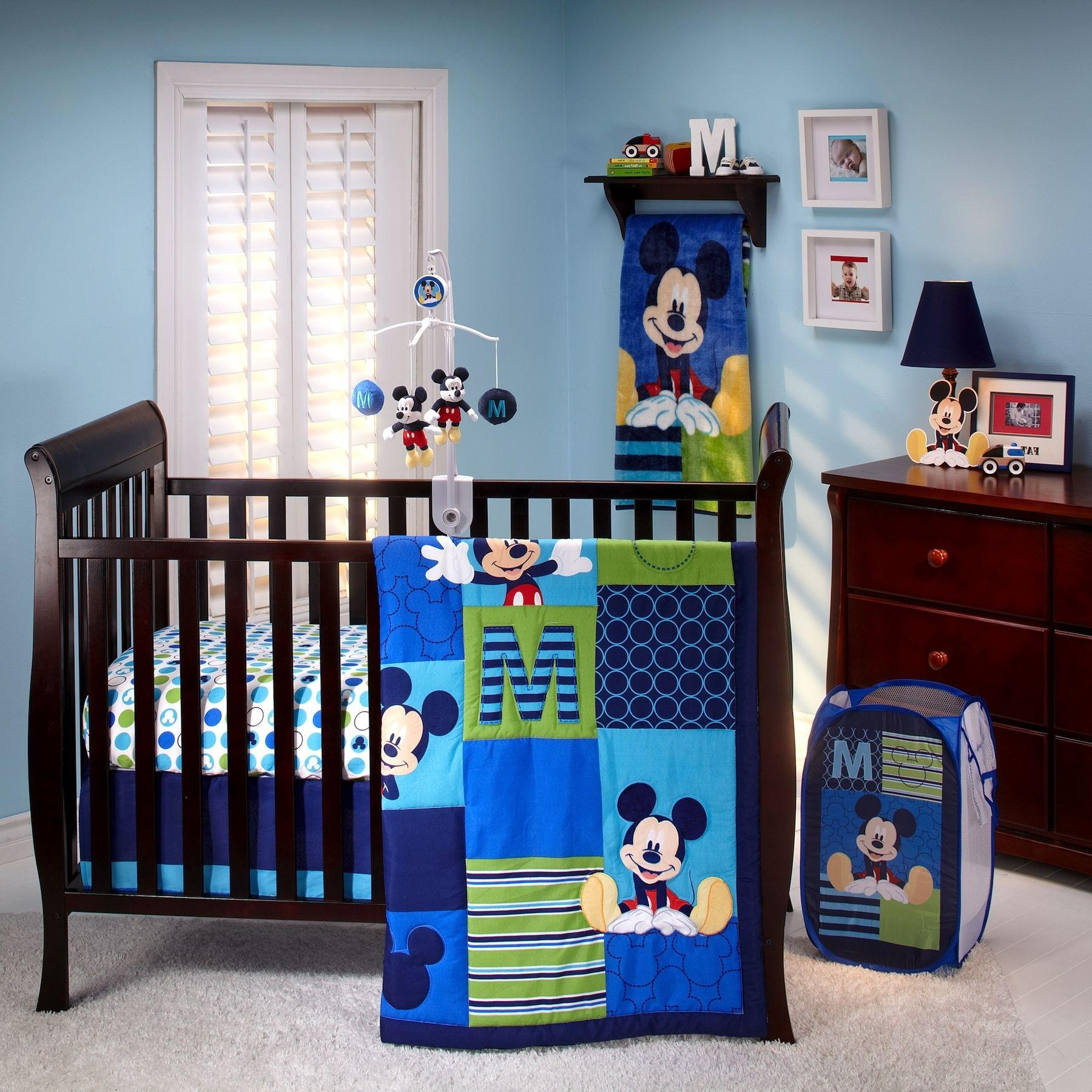 Bedroom Cute Mickey Minnie Mouse Children Themes Arafen