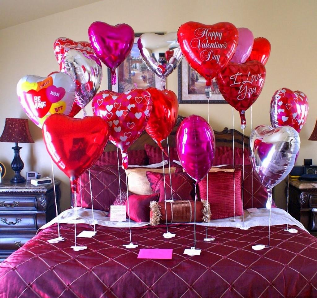 Bedroom Decorating Ideas Couples Valentine Day