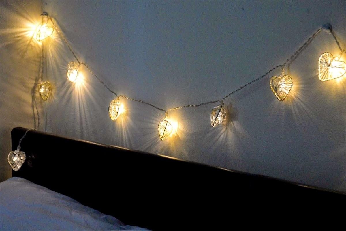 Bedroom Decorative String Lights Indoor