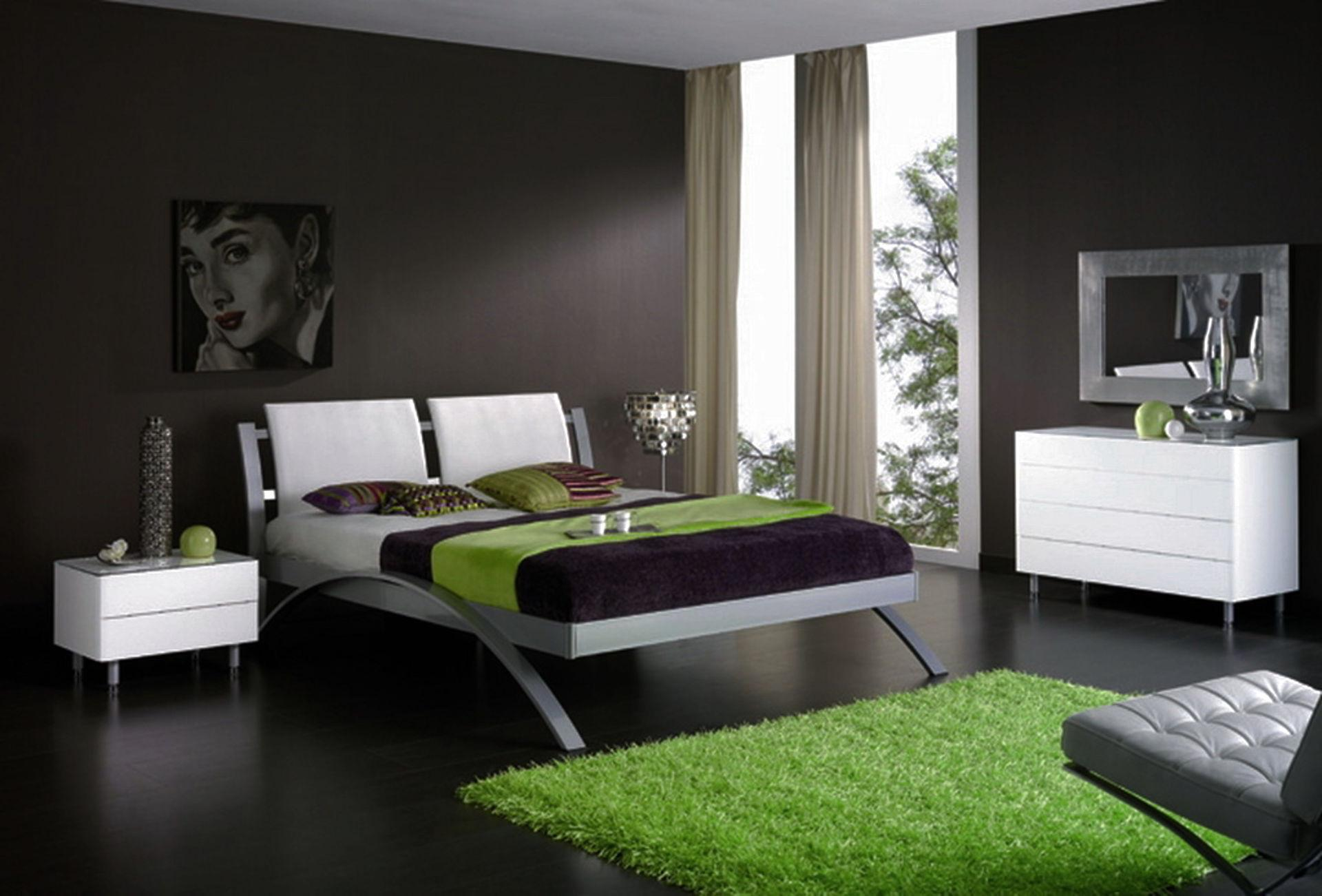 Bedroom Design Nice Color Combination Home Combo