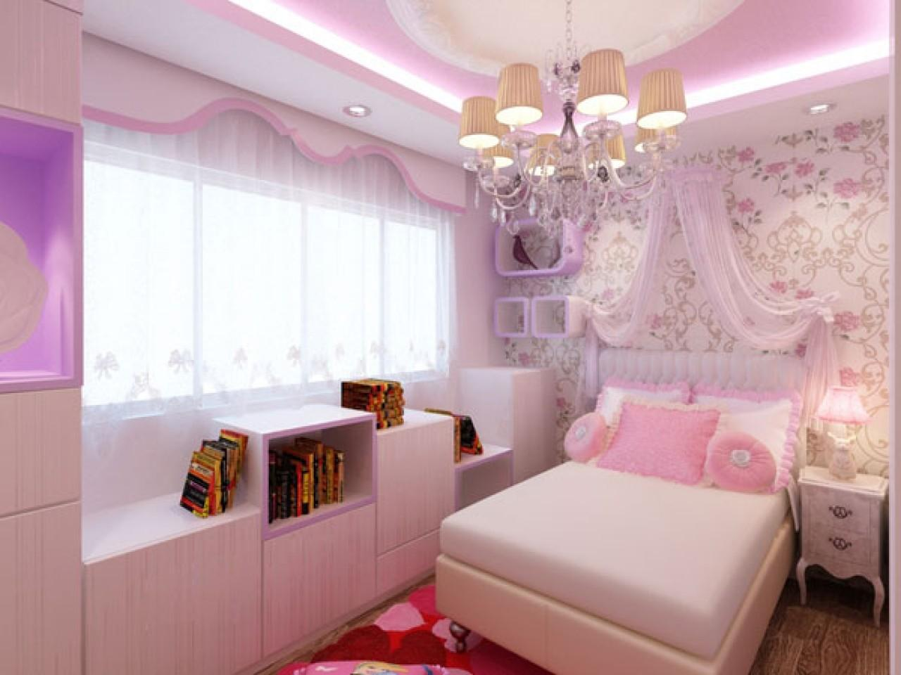 Bedroom Design Small Space Light Pink Ideas