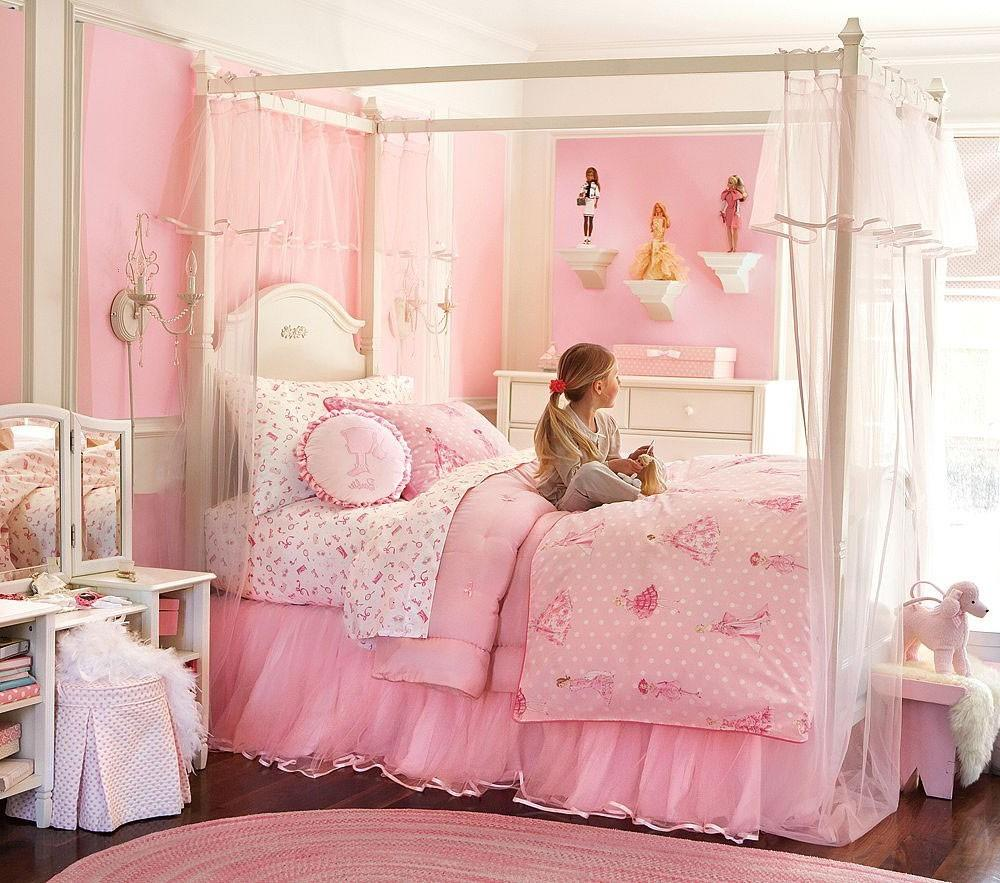 Bedroom Distinguished Canopy Bed Girls