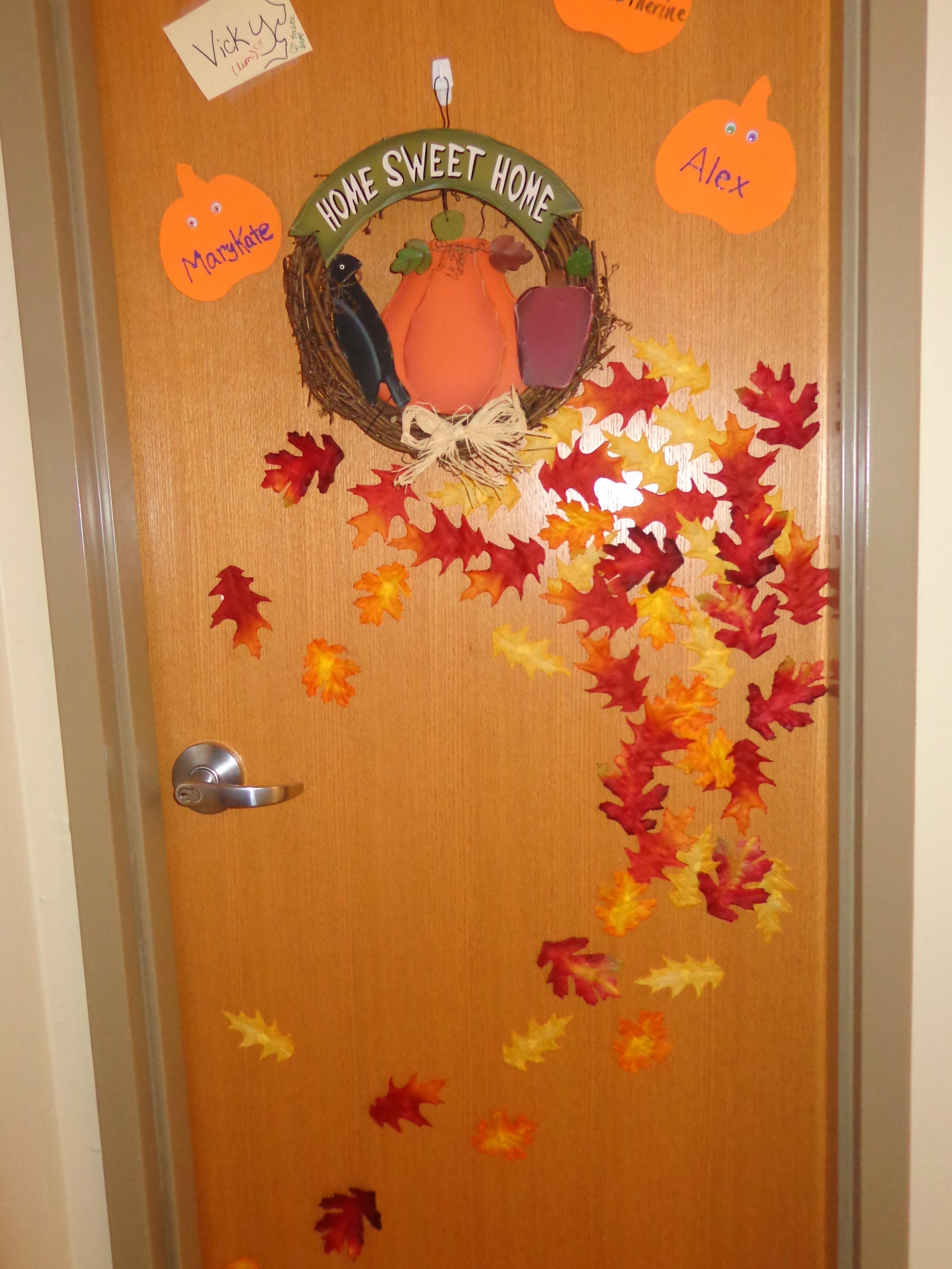 Bedroom Door Decoration Ideas Nice
