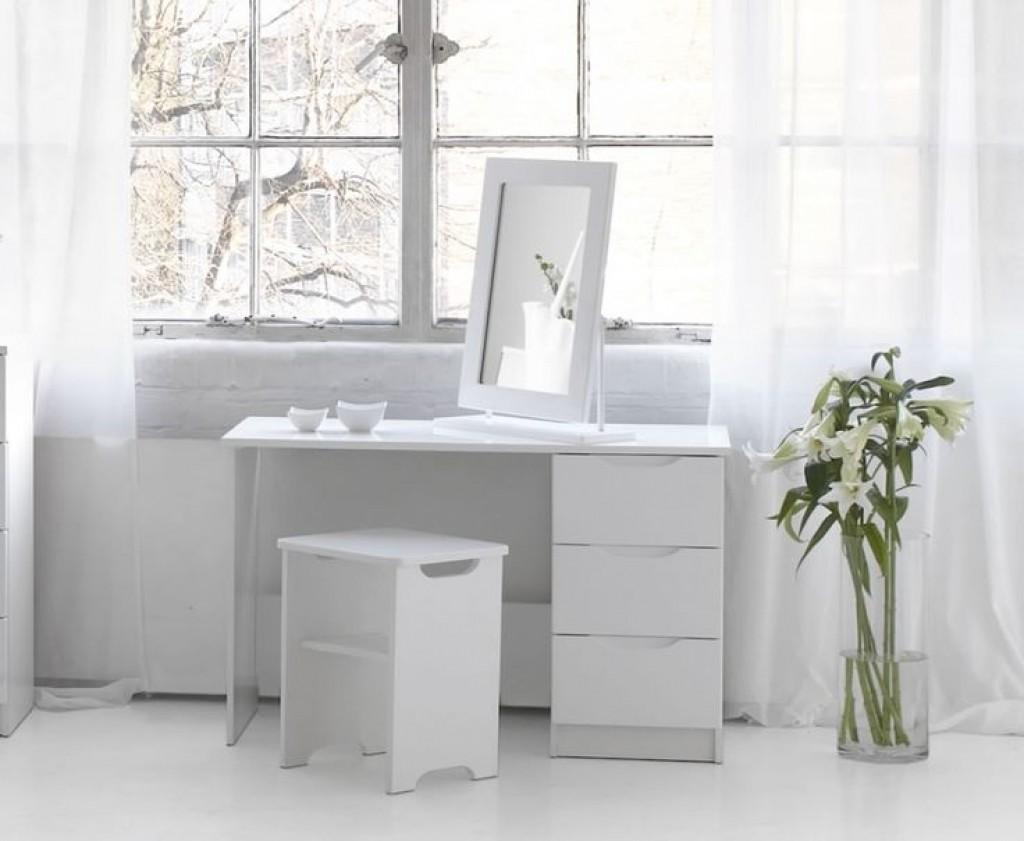 Bedroom Furniture Modern Vanity Table Small Dressing