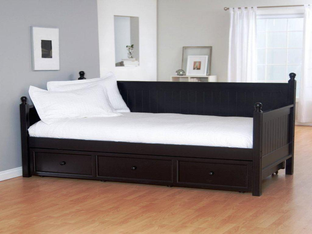 Bedroom Impressive Bedrooms Look Black Metal Daybed