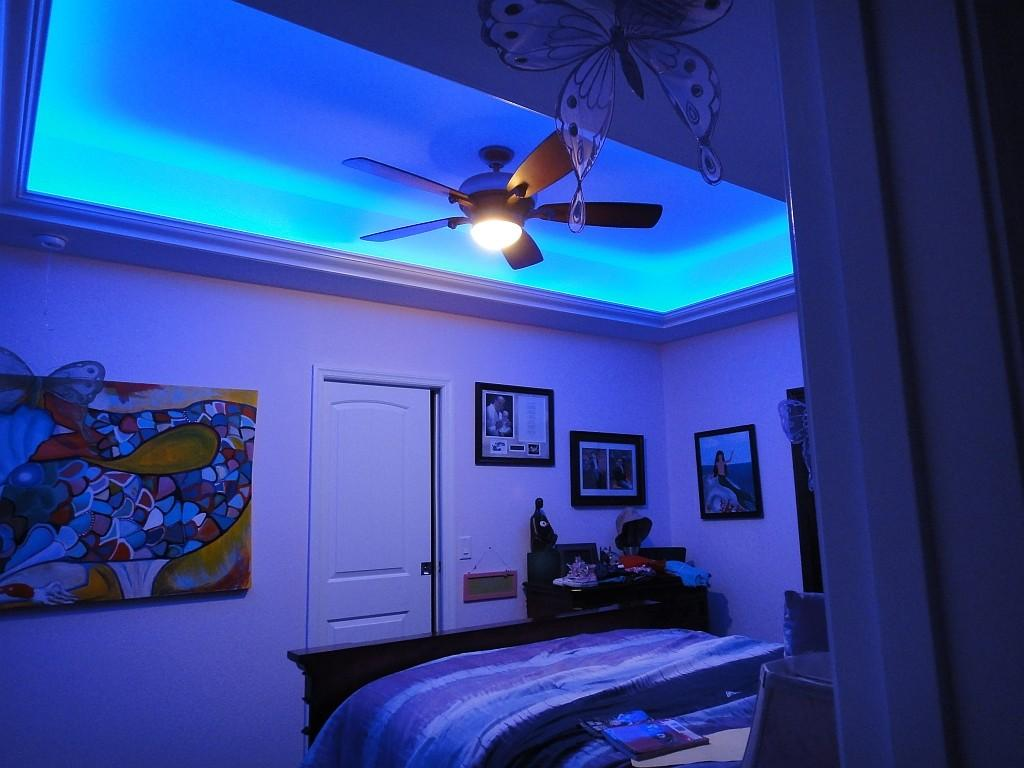 Bedroom Led String Lights Mike Davies Home Interior