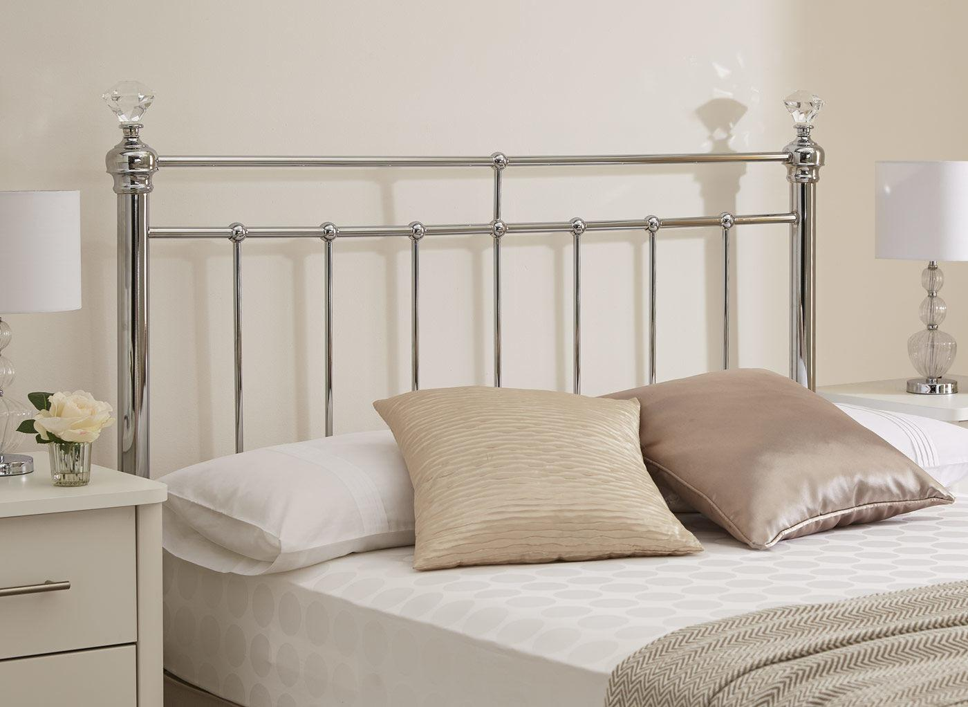 Bedroom Metal Headboards Starting Design White Wall