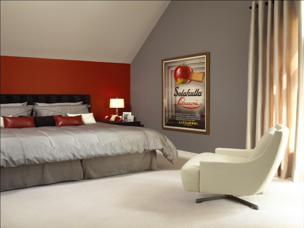 Bedroom Red Grey Best Pink