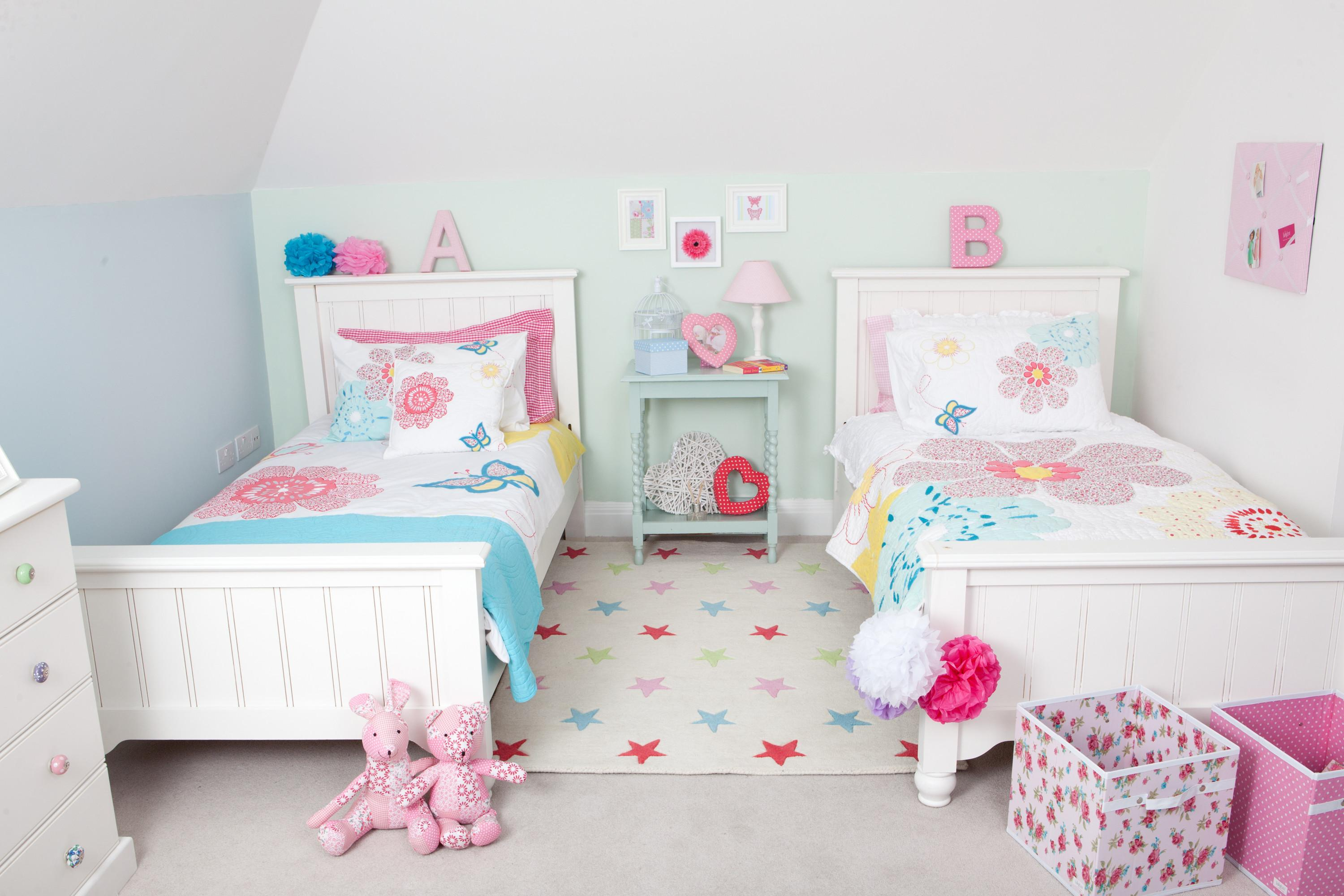 Bedroom Room Kids Toddler Girl Interior Ish
