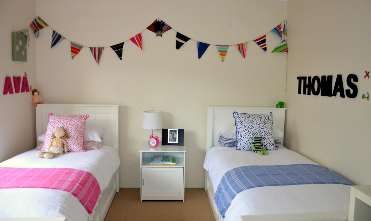 Bedroom Stunning Mini Bed Painted White Decorated