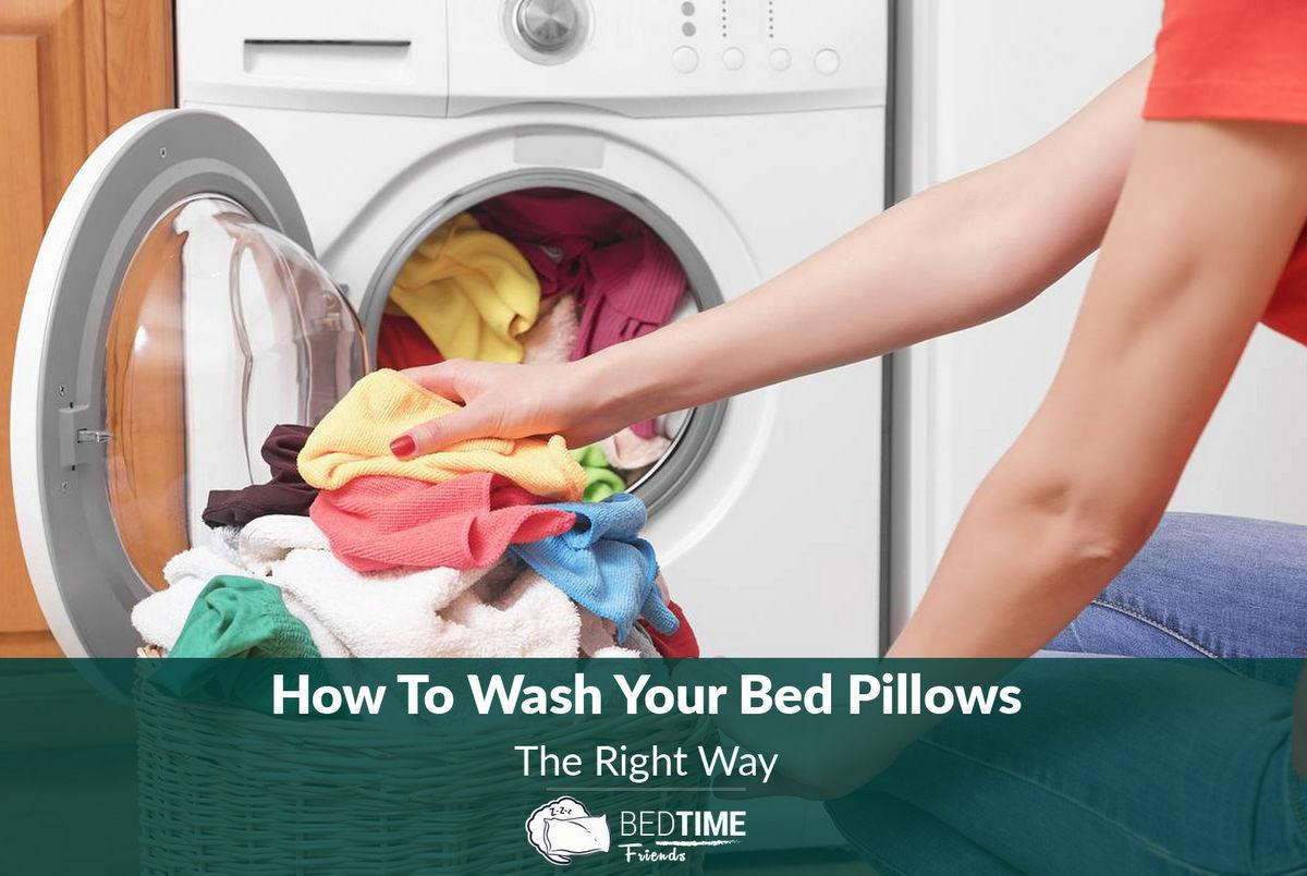 Bedroom Tips 101 Wash Your Bed Pillows Right Way